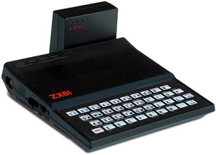 ZX81 with 16k memory expansion