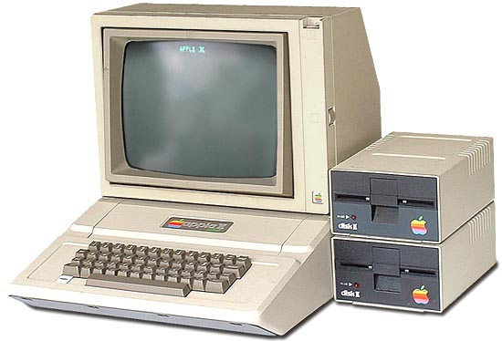 The apple ii or apple became one of the most popular computers