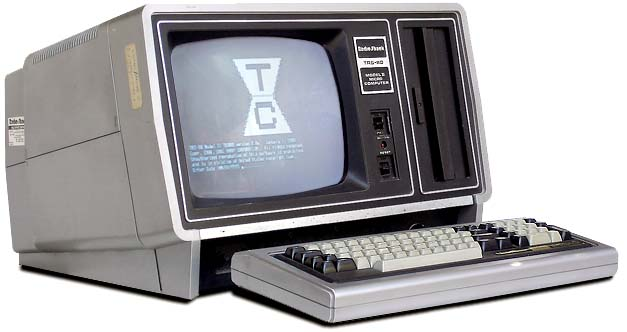 how to connect a trs-80 computer directly to a tv