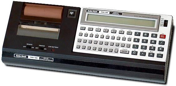 Tandy/Radio Shack TRS-80 model PC-3 portable computer